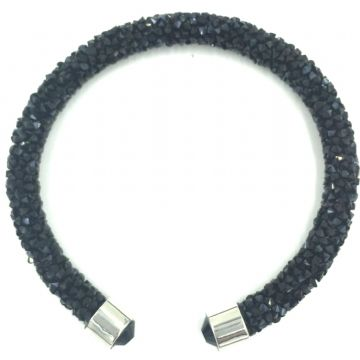 Sparkle dust cuff bracelet kit -black